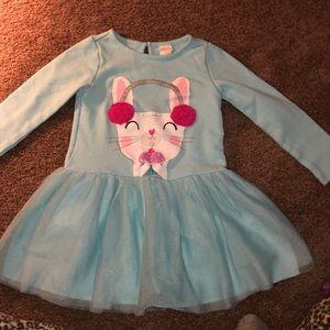 Bunny and Cupcake Dress 3T Gymboree tutu Easter